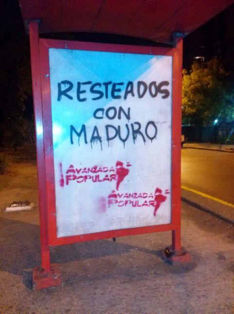 Avanzada Popular se restea con el Comandate Obrero Nicolas MAduro